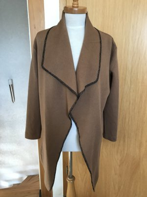 Knitted Coat brown
