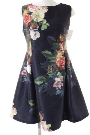 Sweet Miss Cocktailkleid Blumenmuster Casual-Look