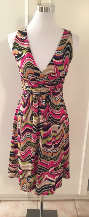 Sweet Miss Midi Dress multicolored