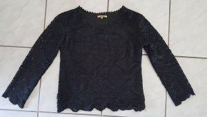 Sweet Miss Gehaakt shirt zwart Polyester