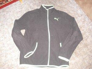 Alexander McQueen / Puma Sports Jacket black-neon green polyester