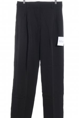 Sweewe Hoge taille broek zwart elegant