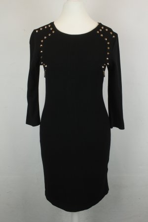 Sweewe Kleid Etuikleid Gr. S schwarz mit Nieten (18/12/K)