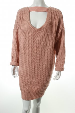 Sweewe Strickpullover rosé Street-Fashion-Look