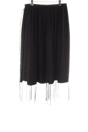 Sweewe Tulle Skirt black casual look