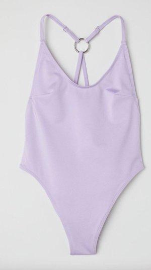 H&M Zwempak paars-lila