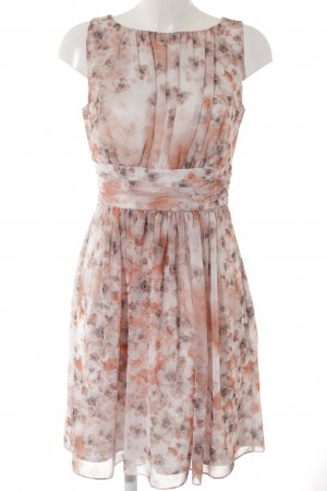 Swing A-Linien Kleid Blumenmuster Elegant