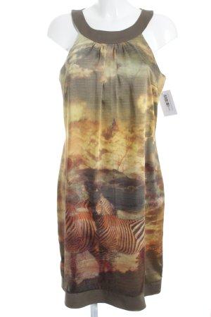 Swing A-Linien Kleid Farbverlauf Elegant
