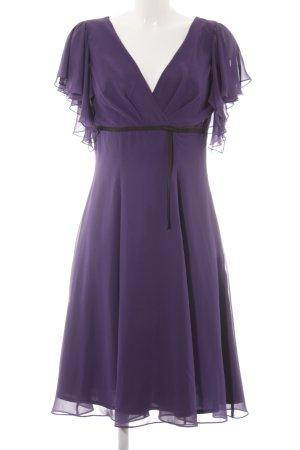 Swing Abendkleid blauviolett Elegant