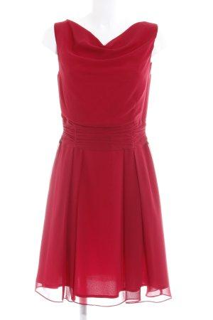 Swing Abendkleid rot Elegant