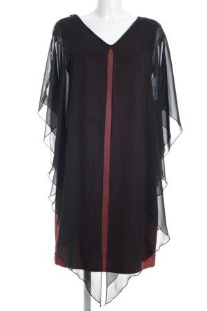 Swing Abendkleid schwarz-rot klassischer Stil