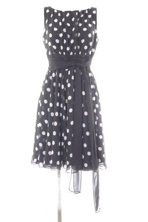 Swing Abendkleid schwarz-weiß 50ies-Stil