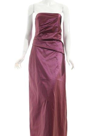 Swing Abendkleid violett klassischer Stil