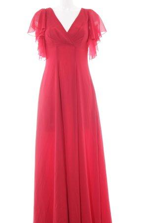 Swing Abendkleid ziegelrot Elegant