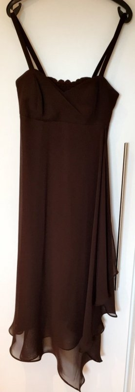 Swing asymmetrisches Abendkleid