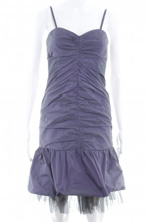 Swing Ball Dress grey violet-black party style