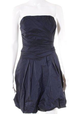 Swing Ballonkleid dunkelblau Elegant