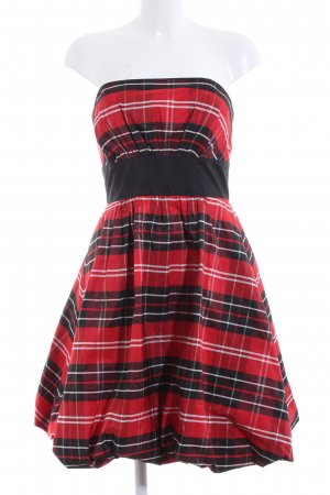 Swing Bandeau Dress allover print casual look