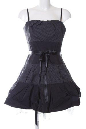 Swing Bustier Dress black elegant