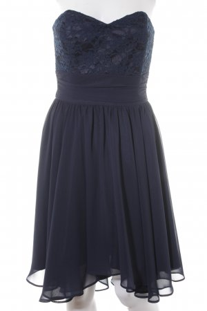 Swing Bustierkleid dunkelblau Elegant