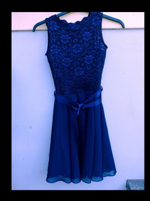 SWING Cocktailkleid blau