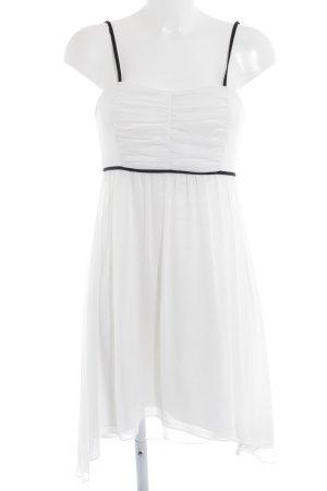Swing Cocktailkleid weiß-schwarz Elegant