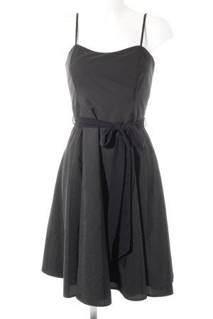 Swing Corsagenkleid schwarz Elegant