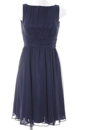 Swing Kapuzenkleid dunkelblau Elegant