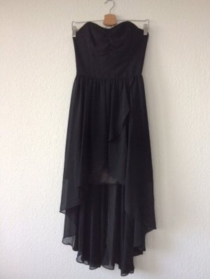 Swing High Low Dress black
