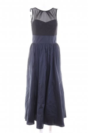 Swing Maxikleid dunkelblau-schwarz Elegant
