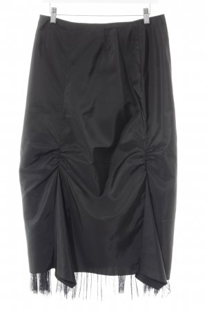 Swing Maxi gonna nero elegante