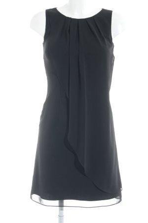 Swing Minikleid schwarz schlichter Stil
