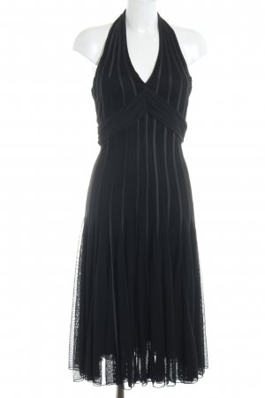 Swing Halter Dress black party style