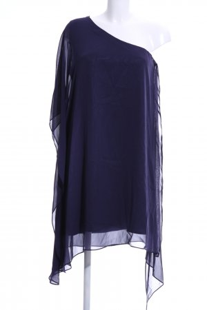 Swing One Shoulder Dress blue casual look