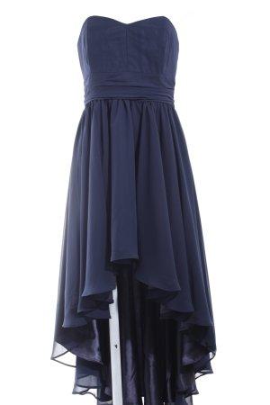 Swing schulterfreies Kleid dunkelblau Elegant
