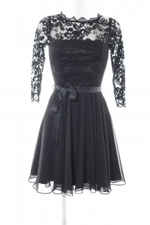 Swing Spitzenkleid schwarz Elegant