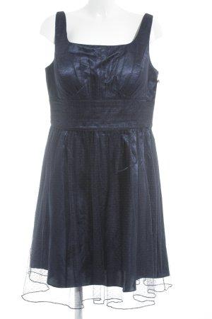 Swing Trägerkleid dunkelblau Elegant