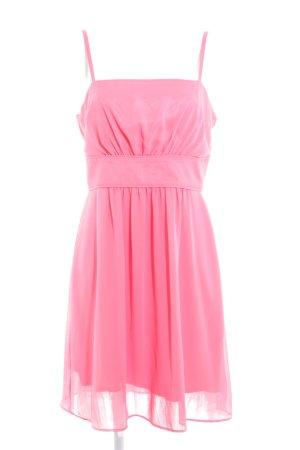 Swing Trägerkleid rosa Elegant