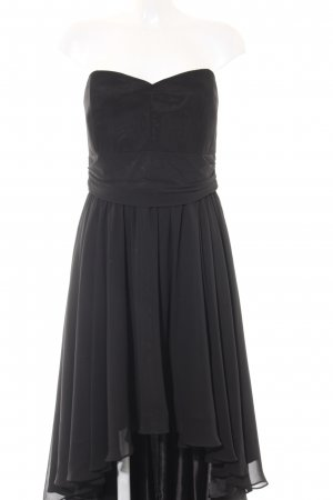 Swing High Low Dress black classic style