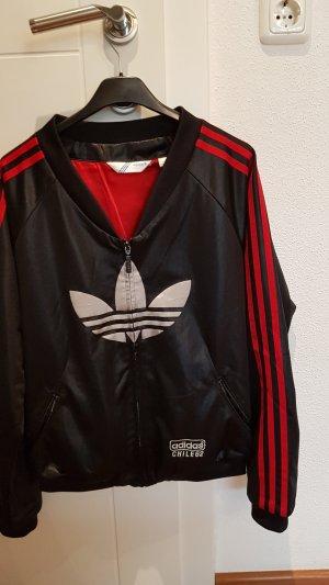 Adidas Originals Chaqueta de tela de sudadera negro