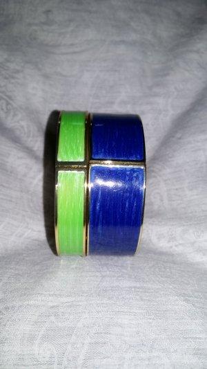 SYL Armreifen blau und grün