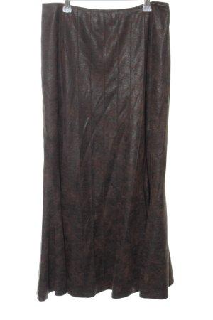 Sylvia Heise Midi-rok zwart casual uitstraling