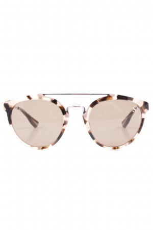 sylvie schimmel Paris Panto Glasses rose-gold-coloured-dark brown elegant