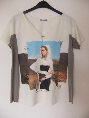 Synthetikshirt von Zara