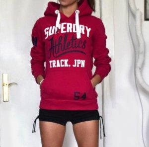 Syperdry Hoodie Himbeer Pink XS-S