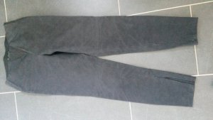 Zara Basic Pantalón elástico gris oscuro
