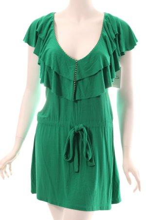 T-Bags Jerseykleid grün Romantik-Look