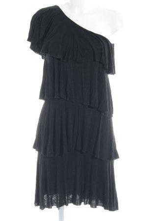 T-Bags One-Shoulder-Kleid schwarz Elegant