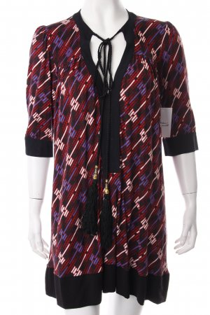 T-Bags Tunikakleid abstraktes Muster Ethno-Look
