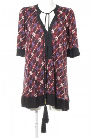 T-Bags Tunic Dress abstract pattern Aztec print